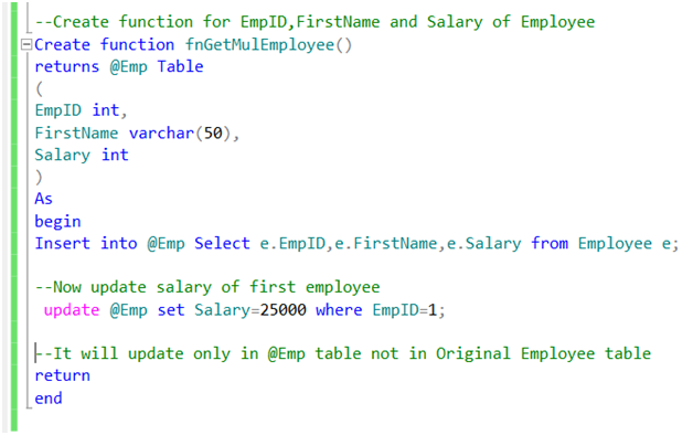 Different Types of SQL Server & SQL Database Functions