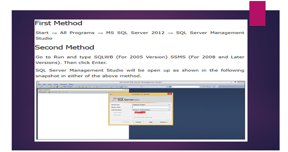 How To Create Database Microsoft SQL Server 2017 Management Studio