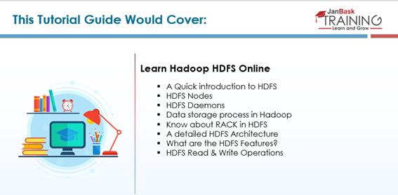 HDFS Hadoop Tutorial Guide