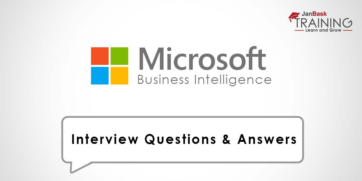 MSBI Interview Questions & Answers for Fresher, Experienced