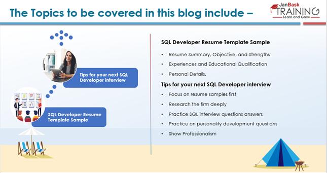 SQL Developer Resume Template Sample – Complete Guide for Fresher