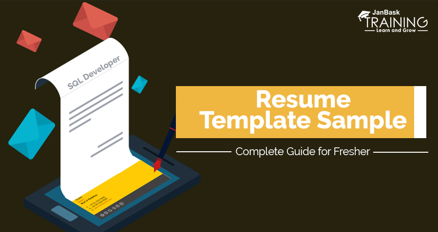 sql developer resume template sample  u2013 complete guide for