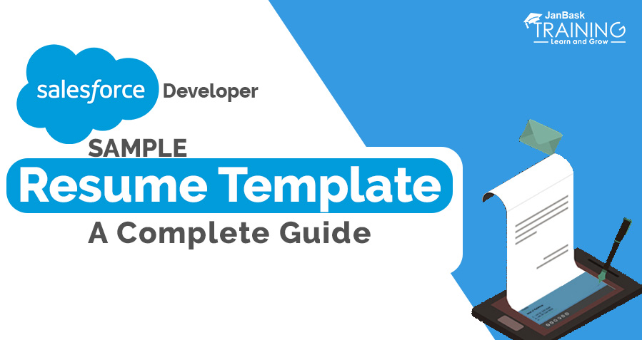 Salesforce Developer Resume Template Sample – A Complete Guide