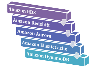 Database Services offered by the AWS