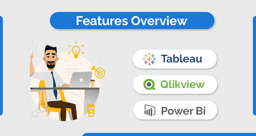 Tableau vs. Qlikview vs. Power BI - Comparing Data Management Tools