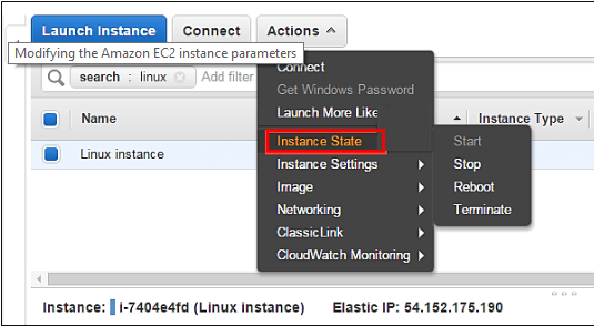 Change Instance EC2 Type