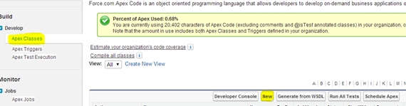 What is Apex String Class in the Salesforce?