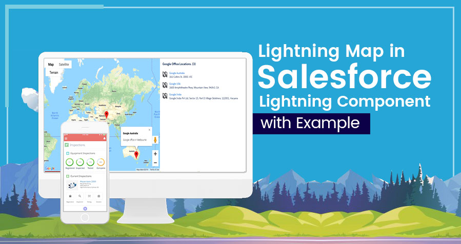 How to Build Lightning Map in Salesforce?