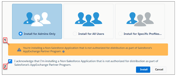 How to install packages in Salesforce AppExchange?