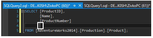 How to indent the code using SQL Formatter?