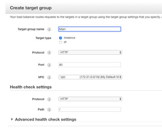 Generate Target Groups