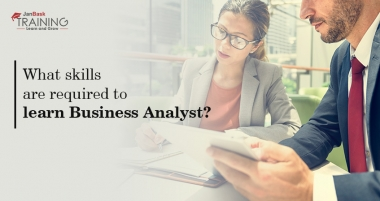 What skills are required to learn business analyst?