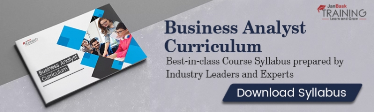 business analyst curriculum