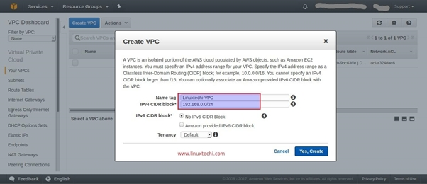 How to Configure your own VPC(Virtual Private Cloud) in AWS?