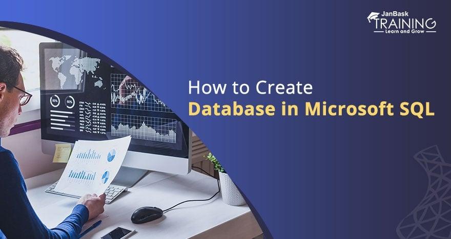 How to Create Database in Microsoft SQL Server?