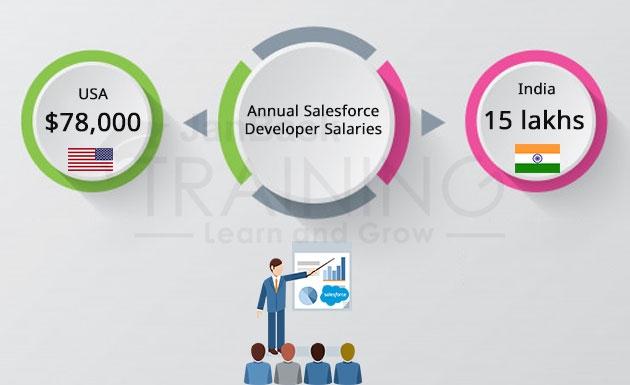 Salesforce Developer Salaries