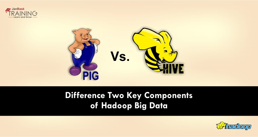 Pig Vs Hive: Difference Two Key Components of Hadoop Big Data