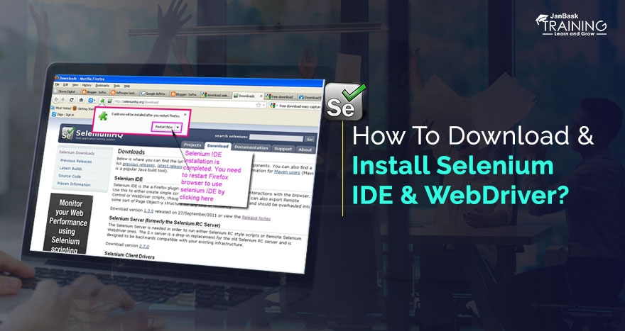 How To Download & Install Selenium IDE & WebDriver
