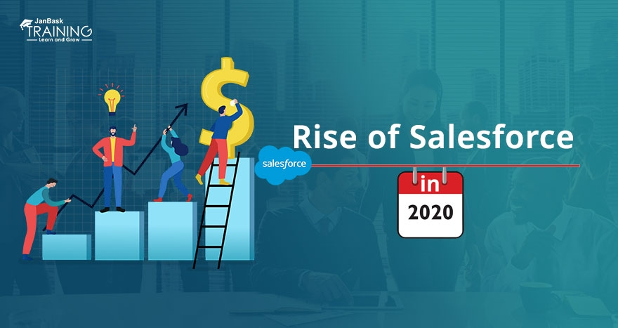 Rise of Salesforce in 2017