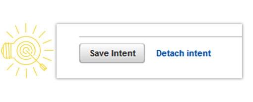 save intent