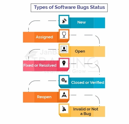 Types of Software Bugs Status