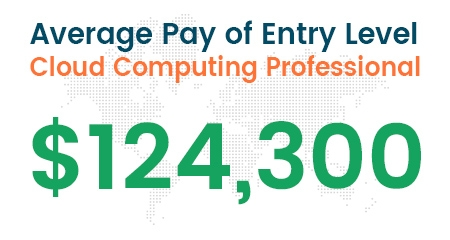 Did you know that the average pay of entry-level professionals is $124,300?