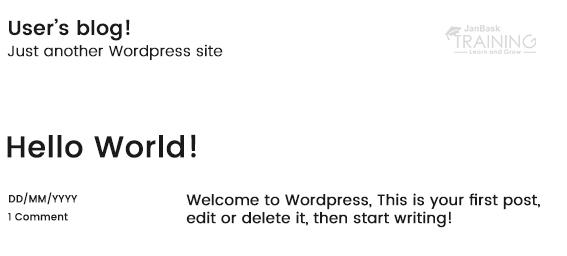 WordPress machine