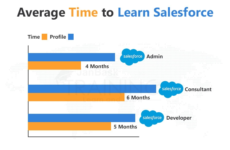 Average Time Associated with various Profiles in Salesforce