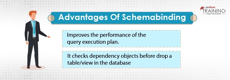 Advantages of schemabinding