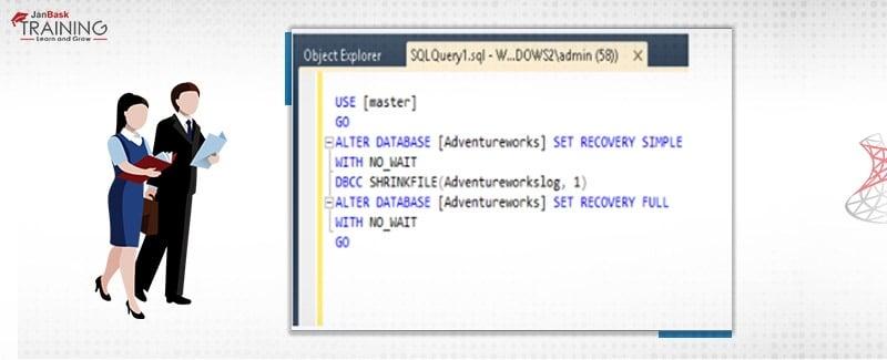 SQL Server Transaction Log File with DBCC Shrinkfile