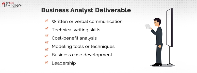 Business Analyst Deliverable