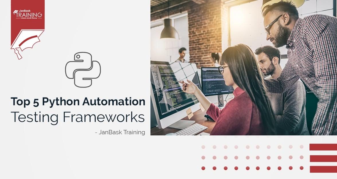 Python Testing Frameworks - Top 5 Python Automation Testing Frameworks
