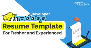 Hadoop Developer Resume Template for Fresher and Experienced