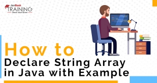 What is Java String? How to Declare String Array in Java with Example