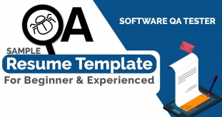Software QA Tester Resume Sample for Experienced & Fresher